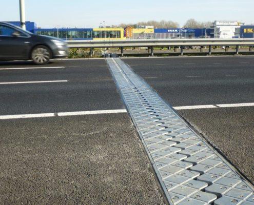 Onderhoud aan voegovergangen in brugdek
